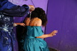 view details of set gm-2f203, Friday and Teena fill each other's formal dresses with goo